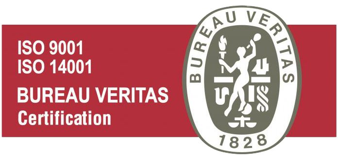 Bureau Veritas ISO 9001 and 14001 Certification